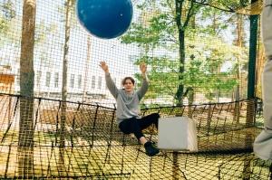 Valmieras Sajūtu parkā atver Tīklu kubu 8