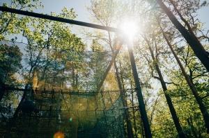 Valmieras Sajūtu parkā atver Tīklu kubu 14