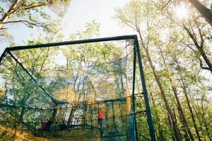 Valmieras Sajūtu parkā atver Tīklu kubu 15