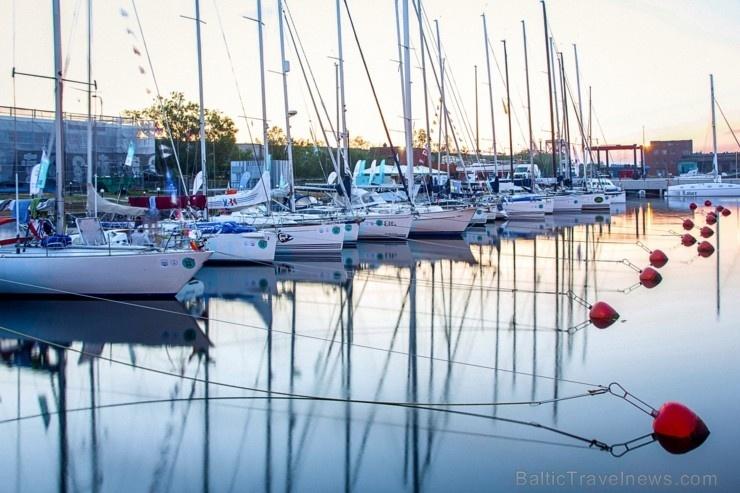 Ventspilī uz «Gulf of Riga Regatta 2020» buru parādi ierodas vairāk nekā 50 jahtas