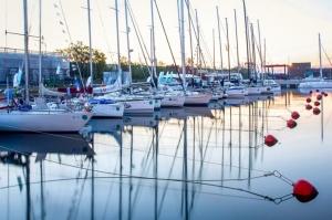 Ventspilī uz «Gulf of Riga Regatta 2020» buru parādi ierodas vairāk nekā 50 jahtas 1