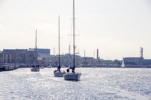 Ventspilī uz «Gulf of Riga Regatta 2020» buru parādi ierodas vairāk nekā 50 jahtas 2