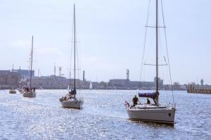 Ventspilī uz «Gulf of Riga Regatta 2020» buru parādi ierodas vairāk nekā 50 jahtas 4