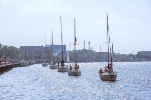 Ventspilī uz «Gulf of Riga Regatta 2020» buru parādi ierodas vairāk nekā 50 jahtas 11