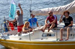 Ventspilī uz «Gulf of Riga Regatta 2020» buru parādi ierodas vairāk nekā 50 jahtas 12