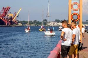 Ventspilī uz «Gulf of Riga Regatta 2020» buru parādi ierodas vairāk nekā 50 jahtas 16
