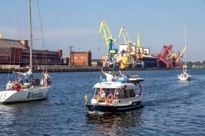 Ventspilī uz «Gulf of Riga Regatta 2020» buru parādi ierodas vairāk nekā 50 jahtas 19