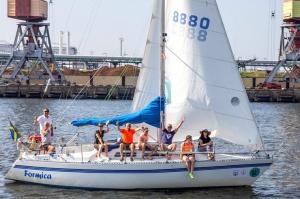 Ventspilī uz «Gulf of Riga Regatta 2020» buru parādi ierodas vairāk nekā 50 jahtas 22