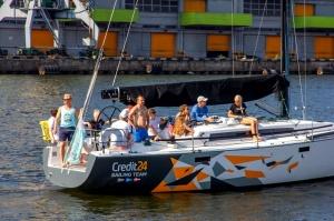 Ventspilī uz «Gulf of Riga Regatta 2020» buru parādi ierodas vairāk nekā 50 jahtas 26