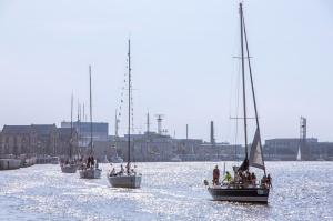 Ventspilī uz «Gulf of Riga Regatta 2020» buru parādi ierodas vairāk nekā 50 jahtas 27
