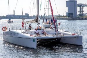 Ventspilī uz «Gulf of Riga Regatta 2020» buru parādi ierodas vairāk nekā 50 jahtas 38