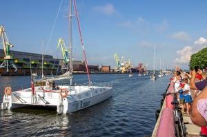 Ventspilī uz «Gulf of Riga Regatta 2020» buru parādi ierodas vairāk nekā 50 jahtas 41