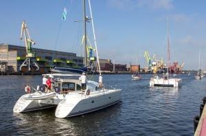 Ventspilī uz «Gulf of Riga Regatta 2020» buru parādi ierodas vairāk nekā 50 jahtas 43