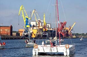 Ventspilī uz «Gulf of Riga Regatta 2020» buru parādi ierodas vairāk nekā 50 jahtas 44