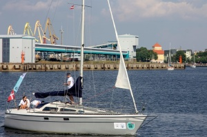 Ventspilī uz «Gulf of Riga Regatta 2020» buru parādi ierodas vairāk nekā 50 jahtas 46