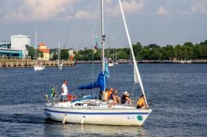 Ventspilī uz «Gulf of Riga Regatta 2020» buru parādi ierodas vairāk nekā 50 jahtas 47