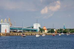 Ventspilī uz «Gulf of Riga Regatta 2020» buru parādi ierodas vairāk nekā 50 jahtas 50