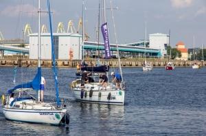 Ventspilī uz «Gulf of Riga Regatta 2020» buru parādi ierodas vairāk nekā 50 jahtas 52