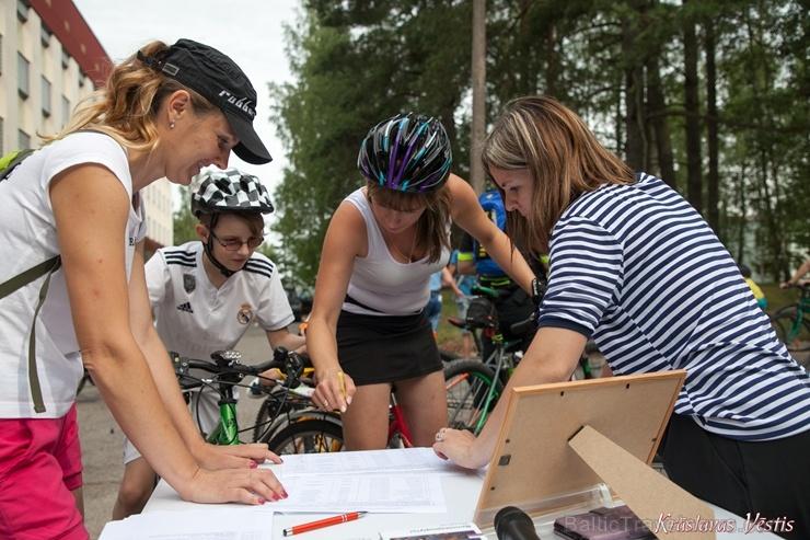 Velobraucējiem Krāslavā atklāts jauns pierobežas velomaršruts «Krāslava – Piedruja» 286809