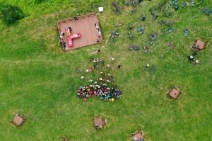 Velobraucējiem Krāslavā atklāts jauns pierobežas velomaršruts «Krāslava – Piedruja» 7