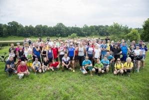 Velobraucējiem Krāslavā atklāts jauns pierobežas velomaršruts «Krāslava – Piedruja» 9