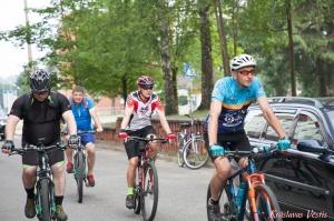 Velobraucējiem Krāslavā atklāts jauns pierobežas velomaršruts «Krāslava – Piedruja» 11