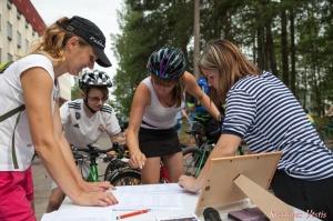 Velobraucējiem Krāslavā atklāts jauns pierobežas velomaršruts «Krāslava – Piedruja» 12