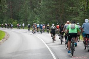 Velobraucējiem Krāslavā atklāts jauns pierobežas velomaršruts «Krāslava – Piedruja» 15