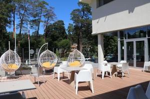 Jūrmalas viesnīca «SemaraH Hotel Lielupe» darbdienās piedāvā birojiem nomainīt darba vidi 11