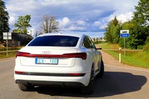Travelnews.lv uzlādē «Audi e-tron Sportback» Talsos un izbauda pilsētas viesmīlību 1