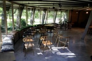 Māksliniecisks viesu nams kupolmāja «Ārpus laika» Salaspilī uzņem ceļotājus 5