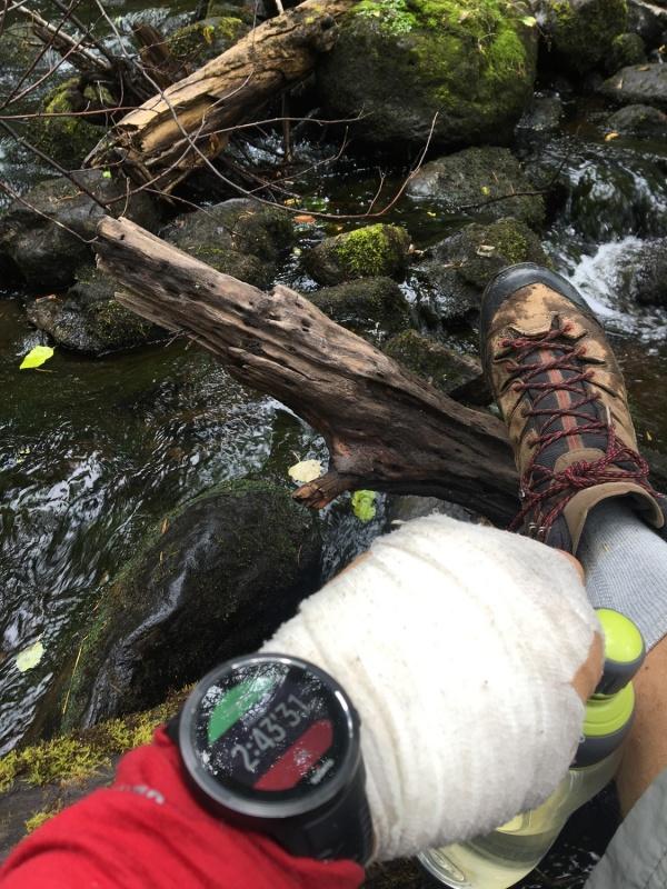 Strauti, kas ietek lielajās upēs ir labs avots ūdens krājumu papildināšanai. Lai gan ceļveži iesaka to vārīt, mēs dzērām arī nevārītu - garšīgs un spi 291254