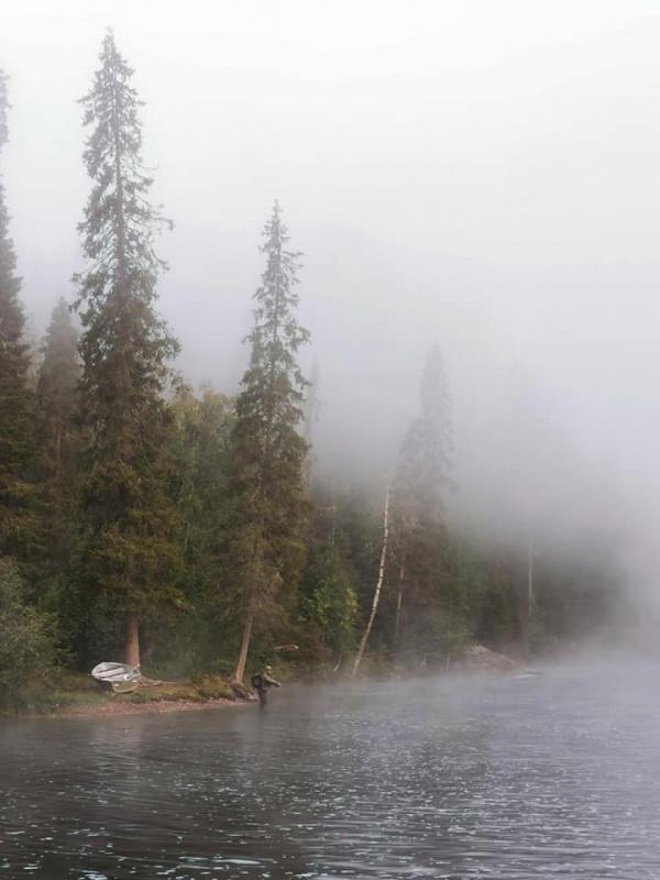 Rīts pār upi 291257