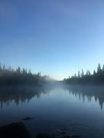 Pirmais rīts vien 10km no Polārā loka uzaust pasakainas miglas noskaņā 3
