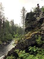 Kopā ar @suuntopulksteni.lv un @kidshike Travelnews.lv pieveic 102km populārākajā Somijas garo pārgājienu takā - Karhunkierros 21
