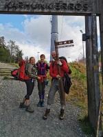 Kopā ar @suuntopulksteni.lv un @kidshike Travelnews.lv pieveic 102km populārākajā Somijas garo pārgājienu takā - Karhunkierros.  Tu arī to 55