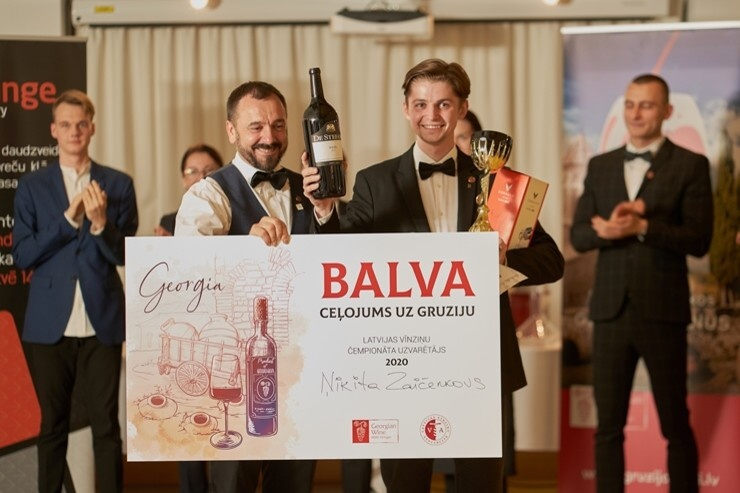 Latvijas Vīnziņu čempionātā laurus plūc Ņikita Žai