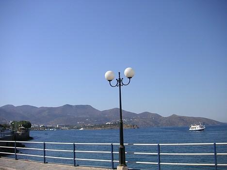 Tā ir viena no attīstītākajām tūrisma pilsētām Grieķijā
