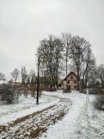 Krāslava  ietinas baltā sniega rotā. Foto: Inga Pudnika 7