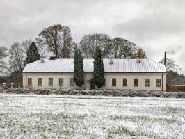 Krāslava  ietinas baltā sniega rotā. Foto: Inga Pudnika 9
