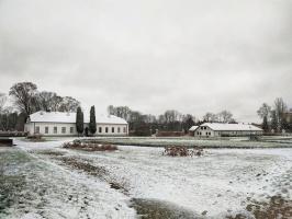 Krāslava  ietinas baltā sniega rotā. Foto: Inga Pudnika 10