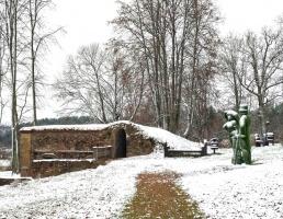 Krāslava  ietinas baltā sniega rotā. Foto: Inga Pudnika 12