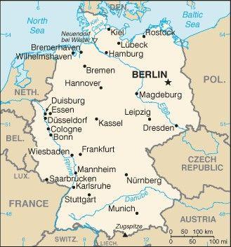 Carte Allemagne Bonn.Vokietija Deutschland Germany Allemagne Deutschland