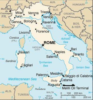 Monaco Italien Karte.Italija Italia Italy Italie Italien Naudingai Zinoti