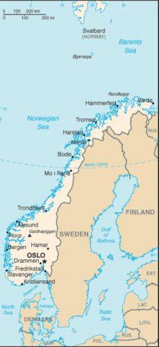 Karta Norge Stavanger.Norvegija Norge Norway Norvege Norwegen Naudingai Zinoti
