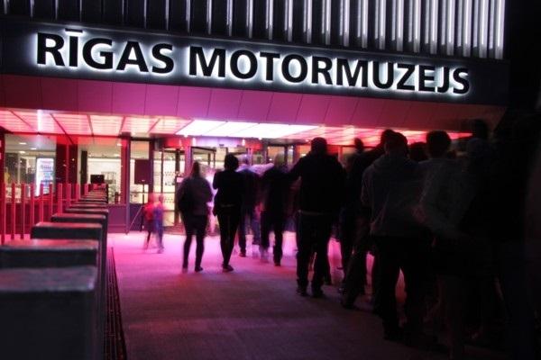 Muzeju nakti Rīgas Motormuzejā
