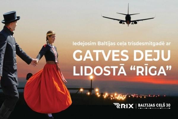 Lidostā Rīga agrā rītā norit unikāls notikums