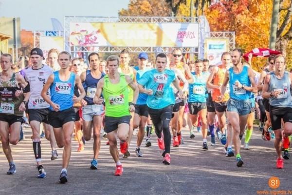 Siguldā zelta rudenī norisināsies pusmaratons