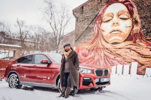 Automašīna kā audekls - māksli