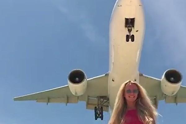 Par selfiju ar lidmašīnu draud